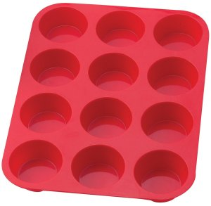 Crave Bakery Gluten Free Favorite Baking Tools Silicone Muffin Pan