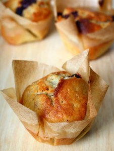 Crave Bakery Gluten Free Blueberry Muffins