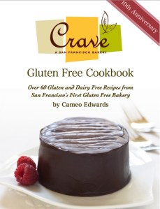 Crave Bakery Gluten Free Cookbook Giveaway