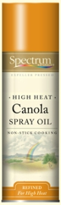 Crave Bakery Recommended Gluten and Dairy Free Spectrum Canola Oil Spray