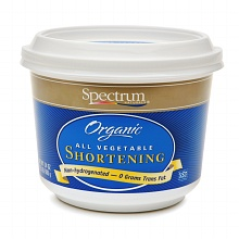Crave Bakery Recommended Gluten and Dairy Free Spectrum Palm Shortening