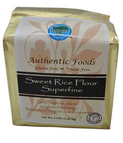 Crave Bakery Recommended Gluten Free Flours Authentic Foods Sweet Rice Flour
