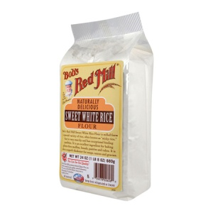 Crave Bakery Recommended Gluten Free Flours Bobs Red Mill Sweet Rice Flour