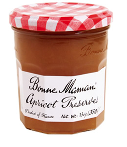Crave Bakery Recommends Gluten Free Bonne Maman Apricot Preserves