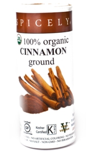 Crave Bakery Recommends Gluten Free Spicely Ground Cinnamon