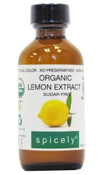 Crave Bakery Recommends Gluten Free Spicely Lemon Extract
