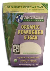 Crave Bakery Recommends Gluten Free Wholesome Sweeteners Organic Powdered Sugar