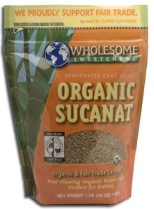 Crave Bakery Recommends Gluten Free Wholesome Sweeteners Organic Sucanat