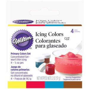 Crave Bakery Recommends Gluten Free Wilton Icing Colors