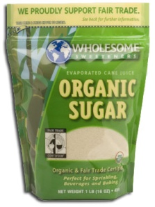 Crave Bakery Recommends Gluten Free Wholesome Sweeteners Organic Sugar