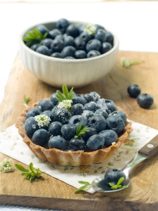 Crave Bakery Gluten Free Blueberry Tart